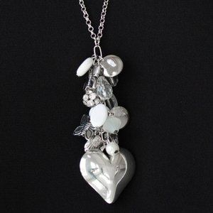 Translucent Charm Necklace Set